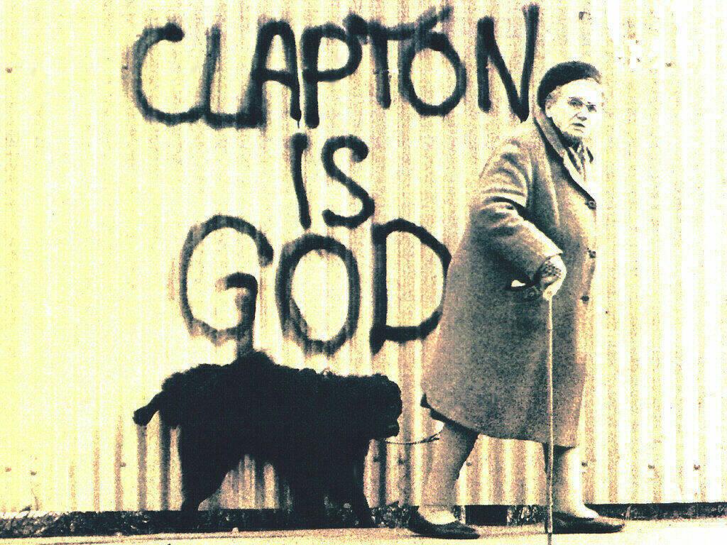 Music Wallpaper: Clapton is God