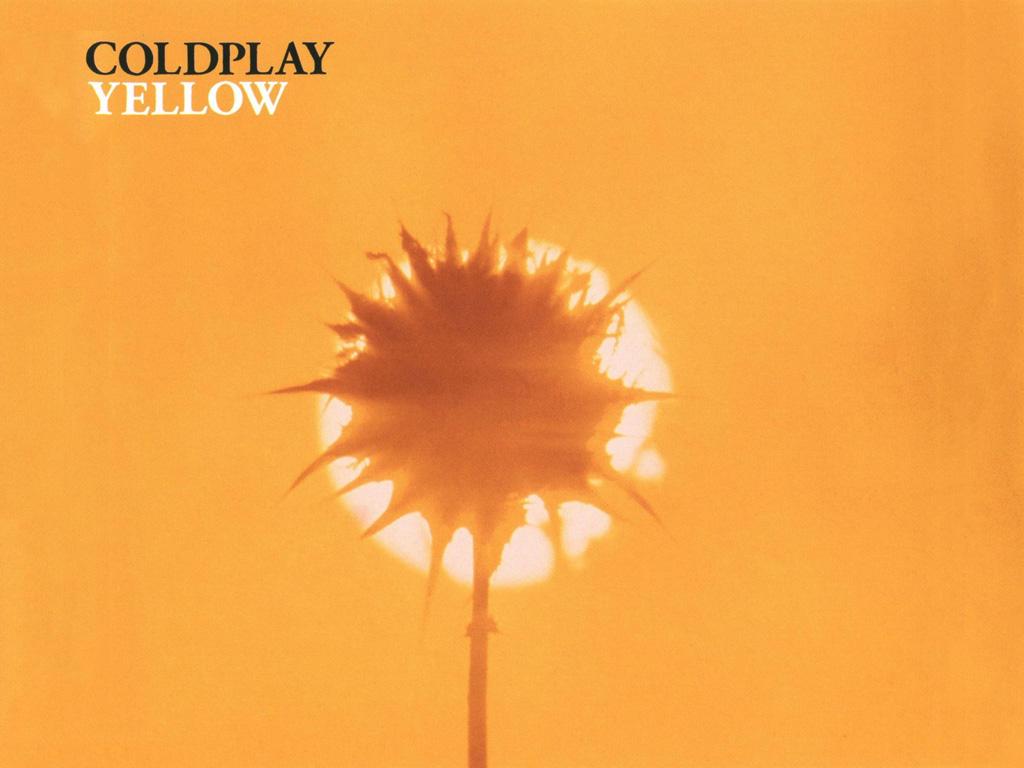 Music Wallpaper: Coldplay - Yellow