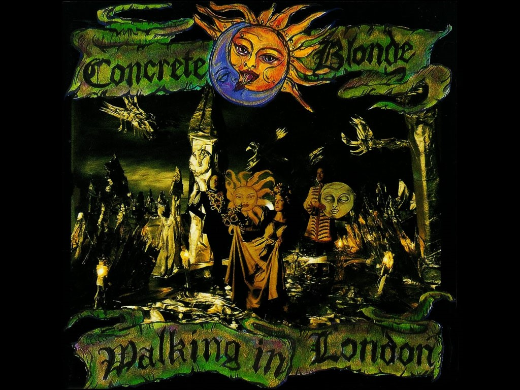 Music Wallpaper: Concrete Blonde - Walking in London