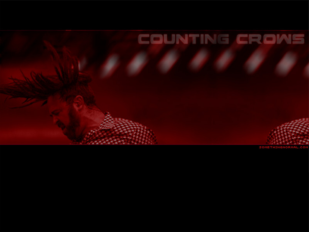 Music Wallpaper: Counting Crows