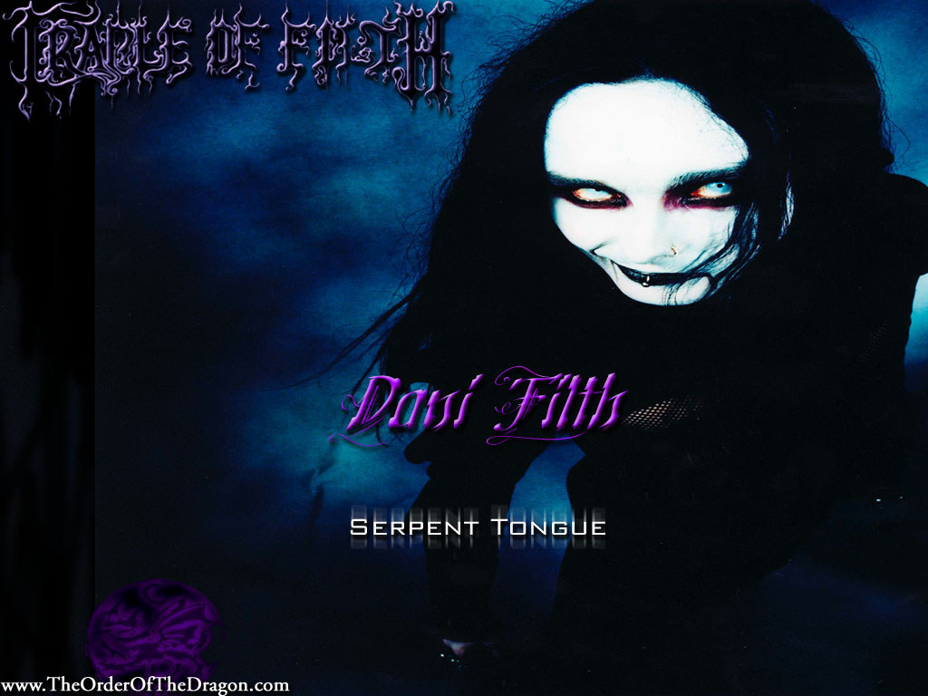 Music Wallpaper: Cradle of Filth - Dani Filth