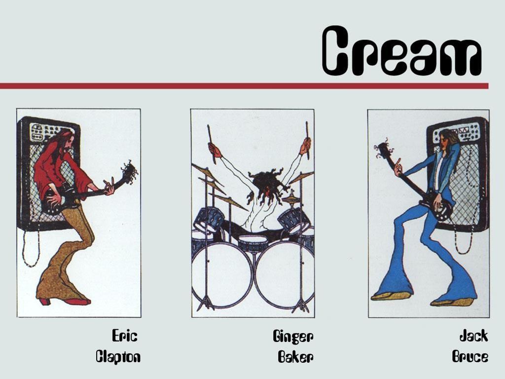 Music Wallpaper: Cream - Cartoon