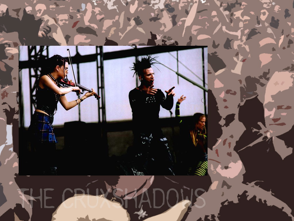 Music Wallpaper: The Cruxshadows