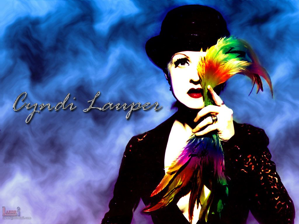 Music Wallpaper: Cyndi Lauper