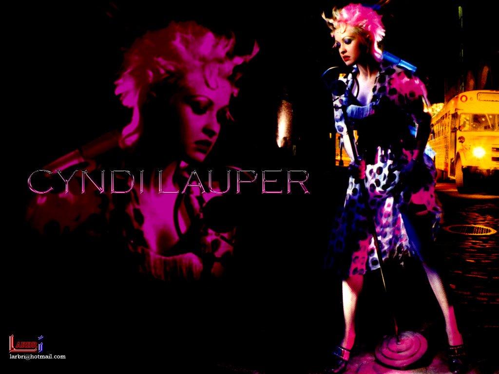 Music Wallpaper: Cyndi Lauper