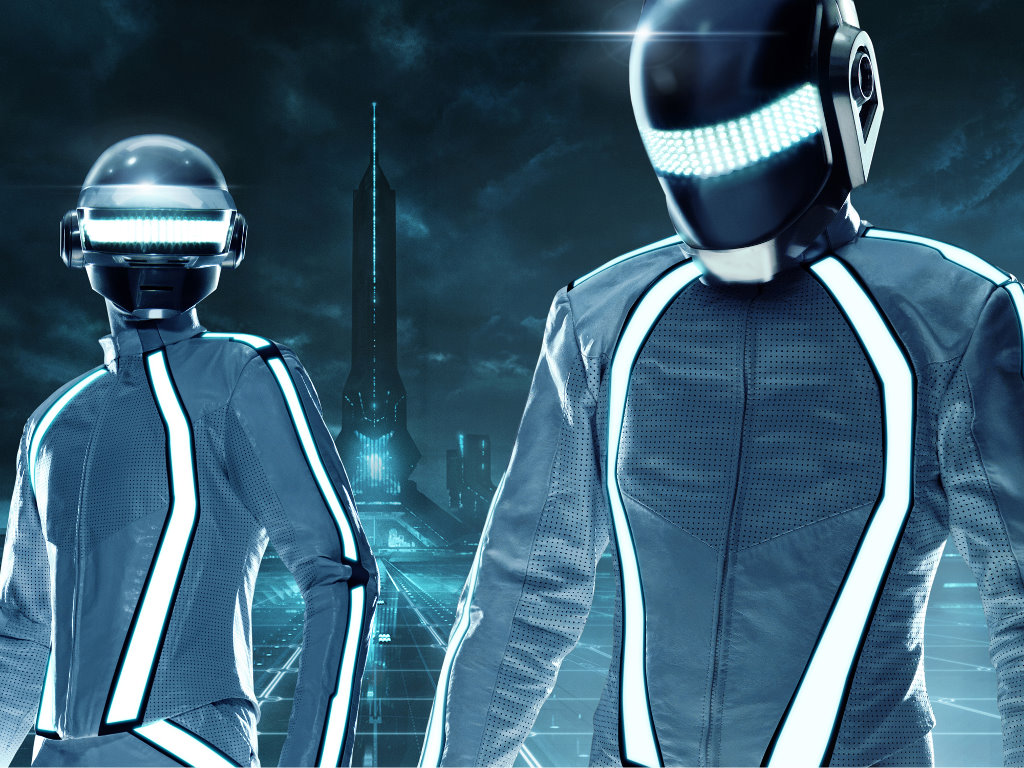 Music Wallpaper: Daft Punk - Tron Legacy