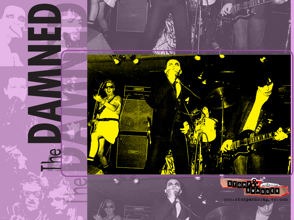 Music Wallpaper: The Damned