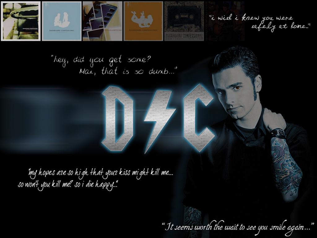 Music Wallpaper: Dashboard Confessional