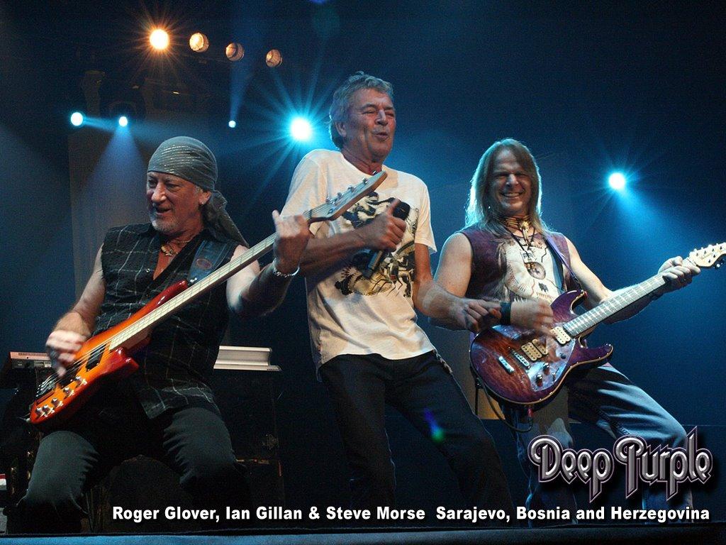 Music Wallpaper: Deep Purple - Live in Bosnia