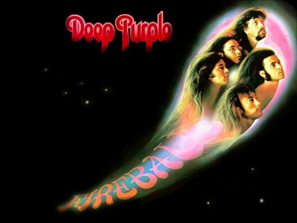 Music Wallpaper: Deep Purple - Fireball