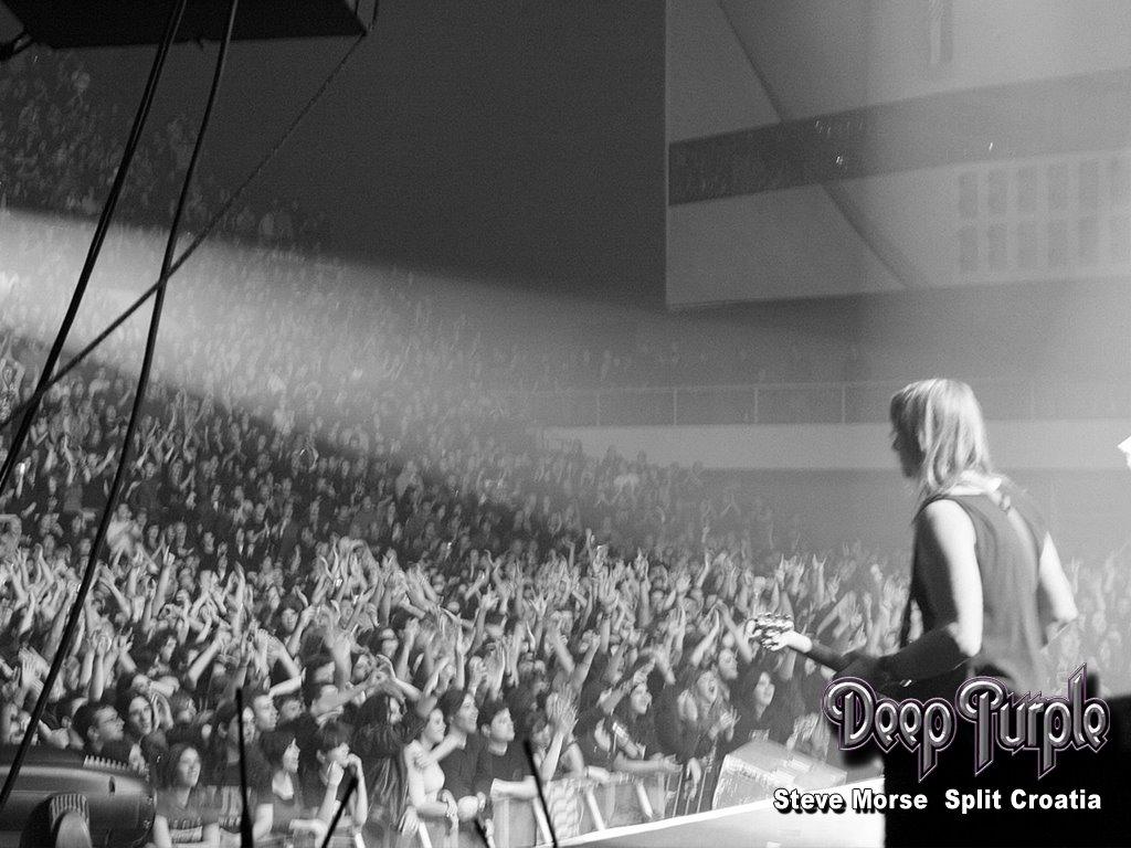 Music Wallpaper: Deep Purple - Live in Croatia