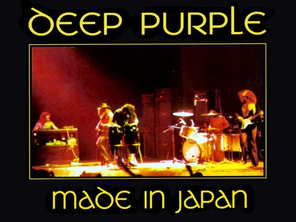 Music Wallpaper: Deep Purple - Made in Japan