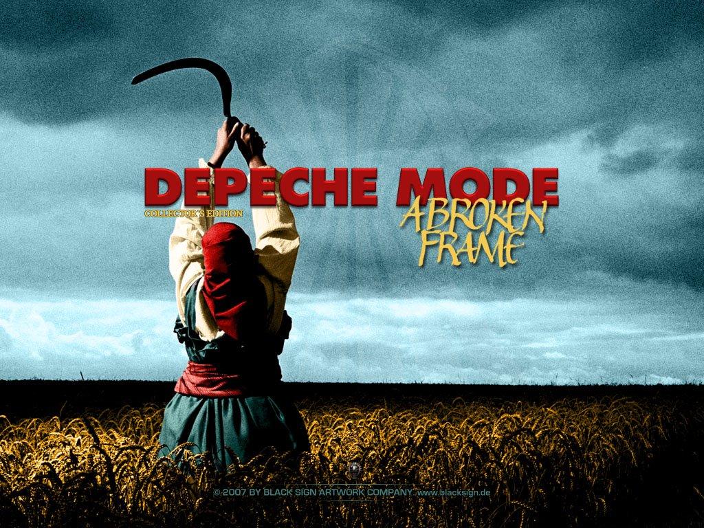 Music Wallpaper: Depeche Mode - A Broken Frame