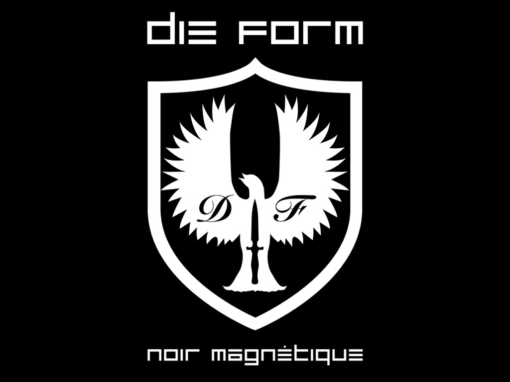 Music Wallpaper: Die Form - Noir Magnetique
