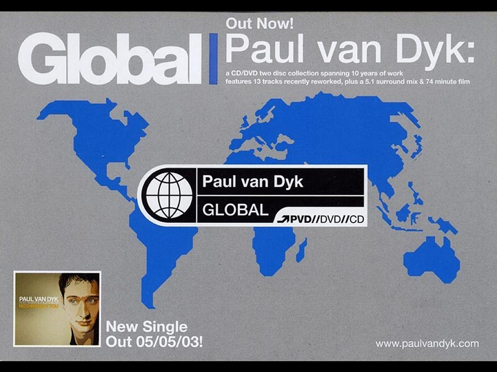 Music Wallpaper: DJ Paul van Dyk