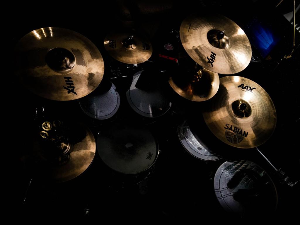 Music Wallpaper: Drum Kit