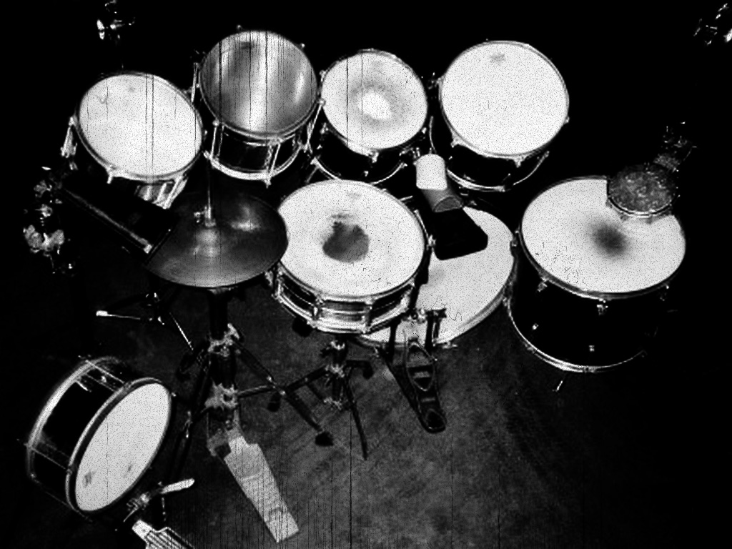 Music Wallpaper: Drumset