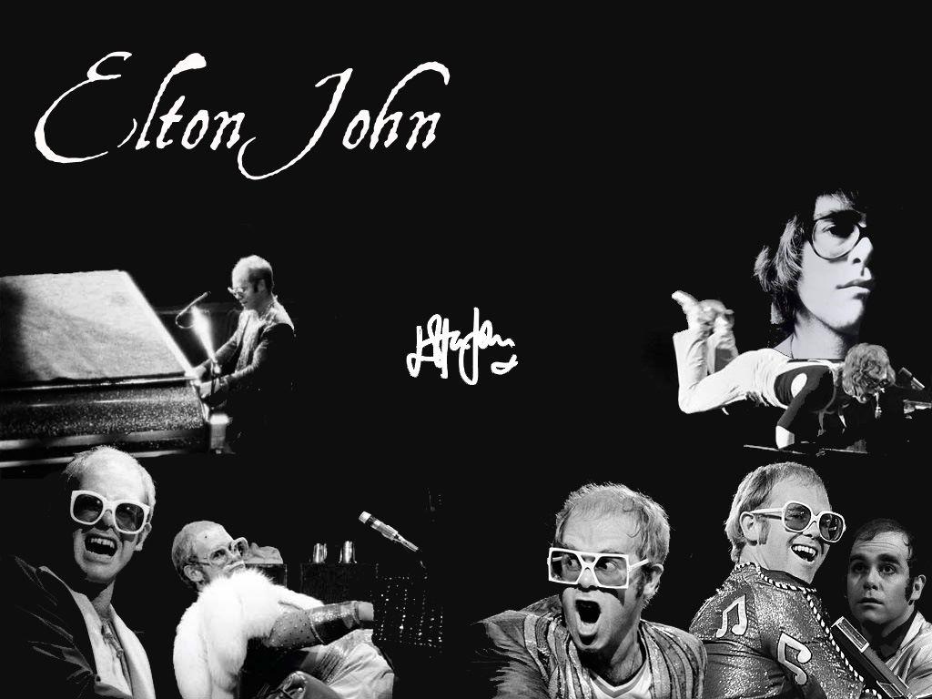 Music Wallpaper: Elton John