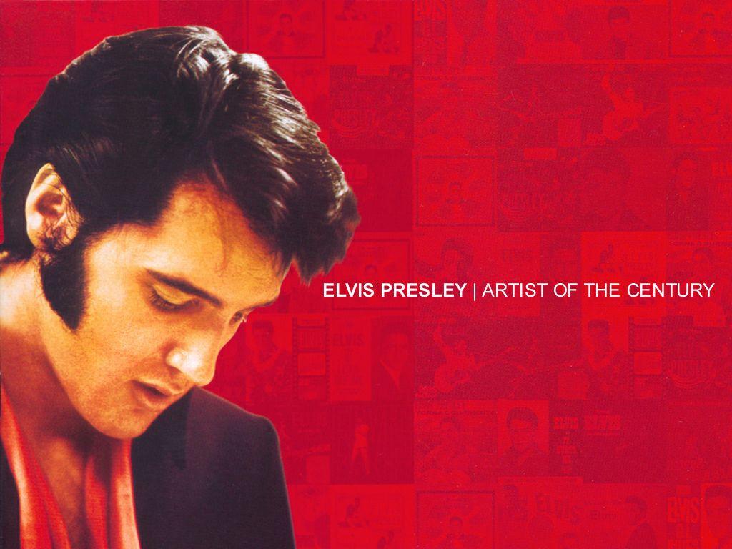 Music Wallpaper: Elvis Presley - Artist of the Century