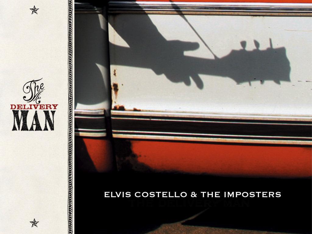 Music Wallpaper: Elvis Costello