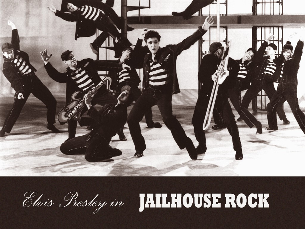 Music Wallpaper: Elvis - Jailhouse Rock
