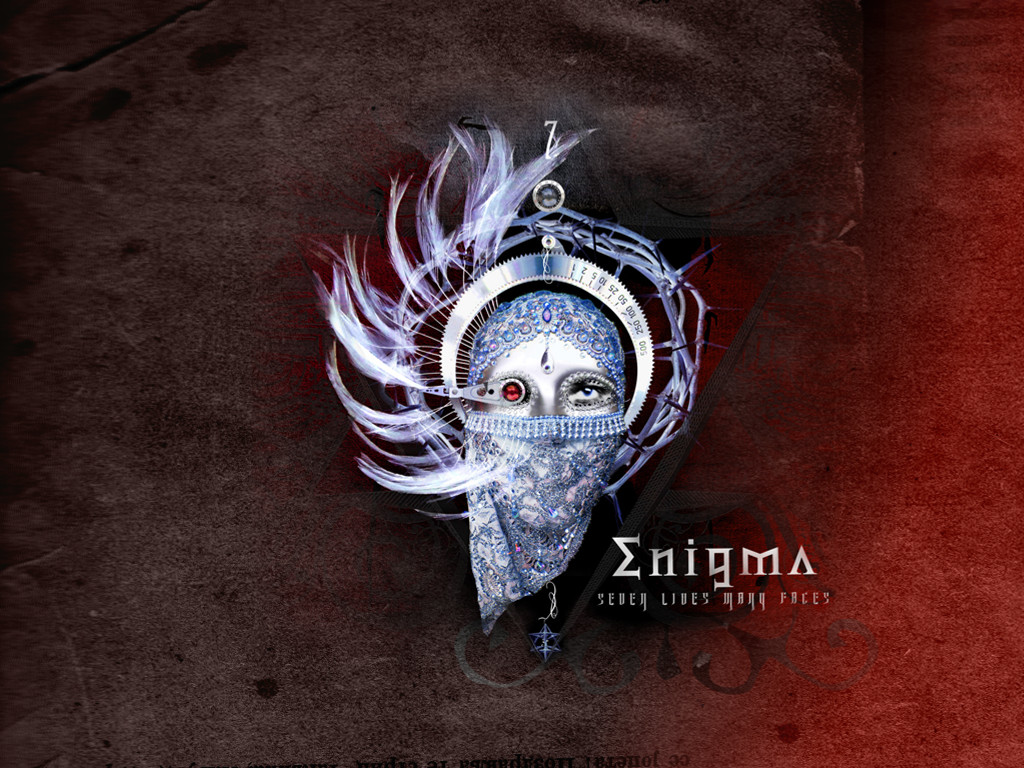 Music Wallpaper: Enigma - Seven Lines Many Faces