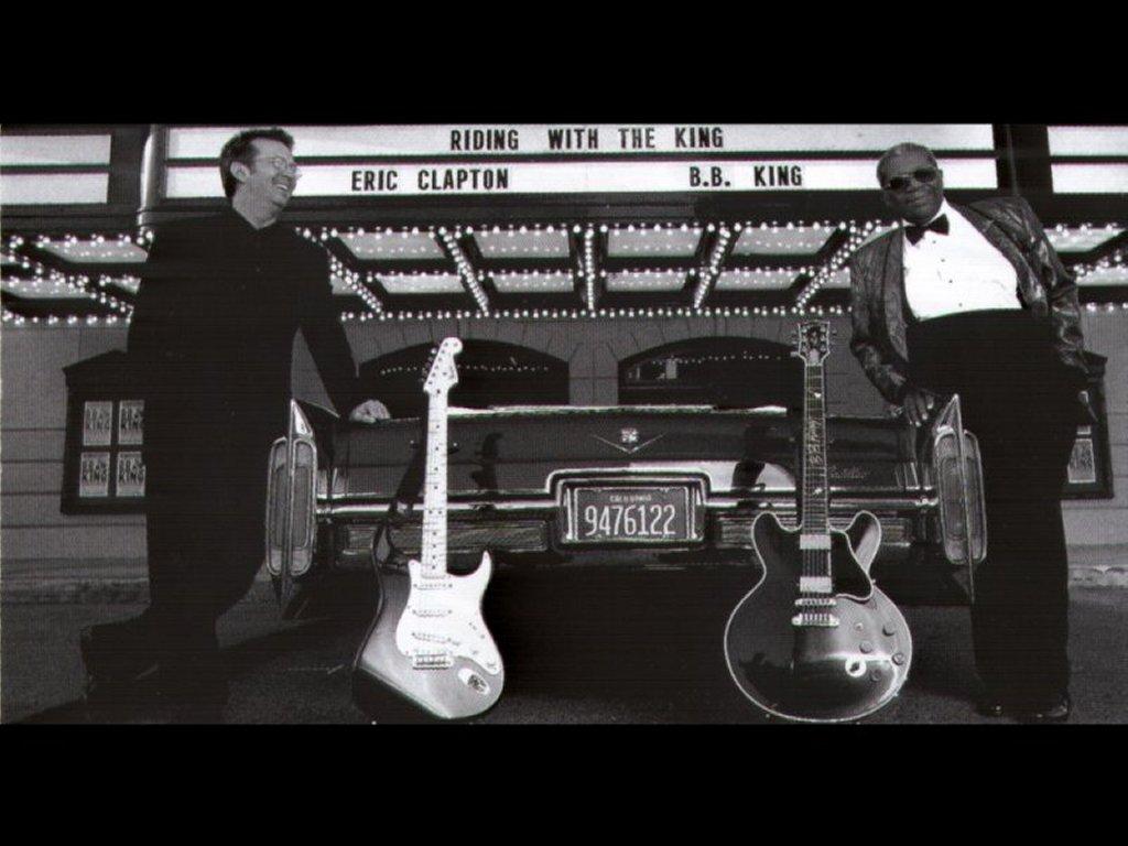 Music Wallpaper: Eric Clapton and B.B. King