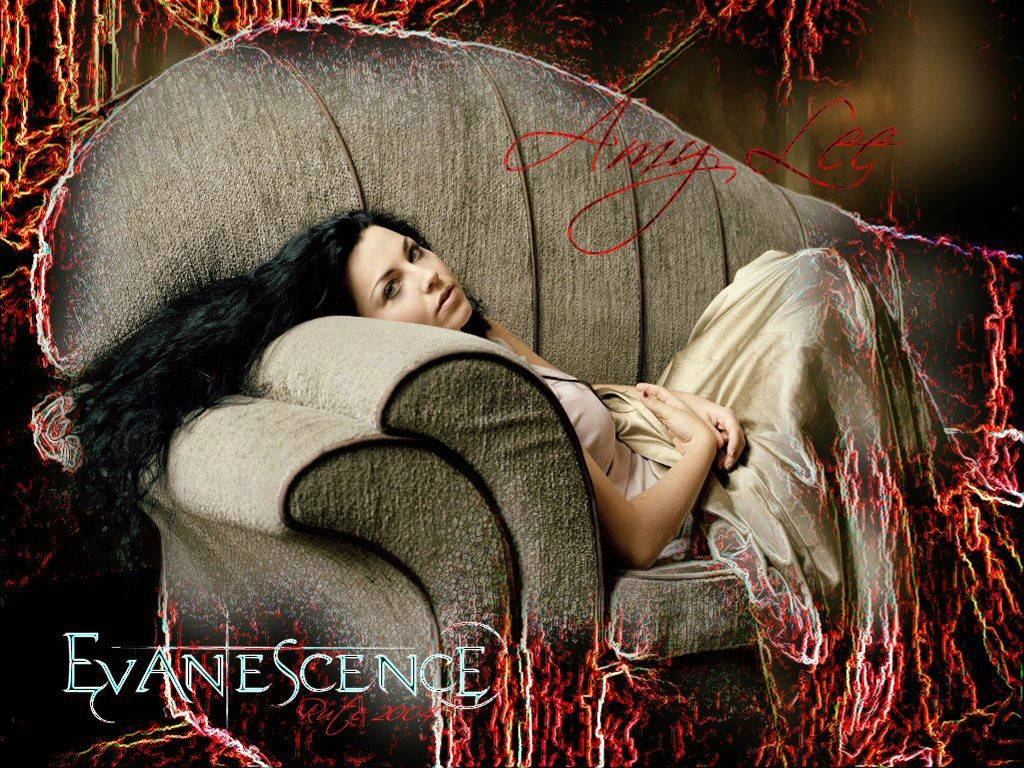 Music Wallpaper: Evanescence - Amy Lee