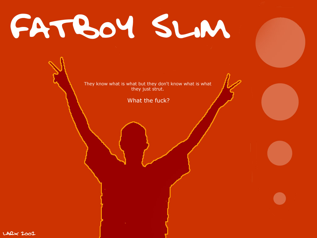 Music Wallpaper: Fatboy Slim