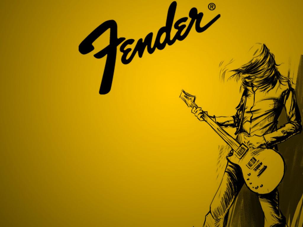 Music Wallpaper: Fender - Art