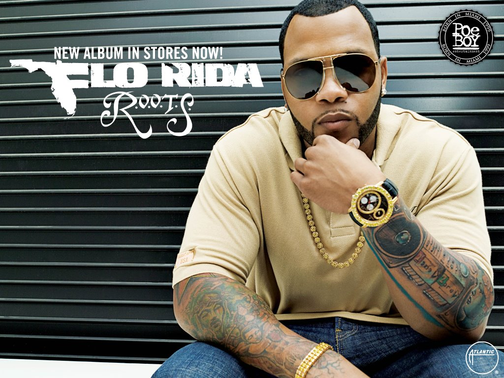 Music Wallpaper: Flo Rida