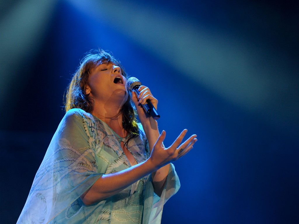 Papel de Parede Gratuito de Música : Florence and the Machine - Rock in Rio 2013