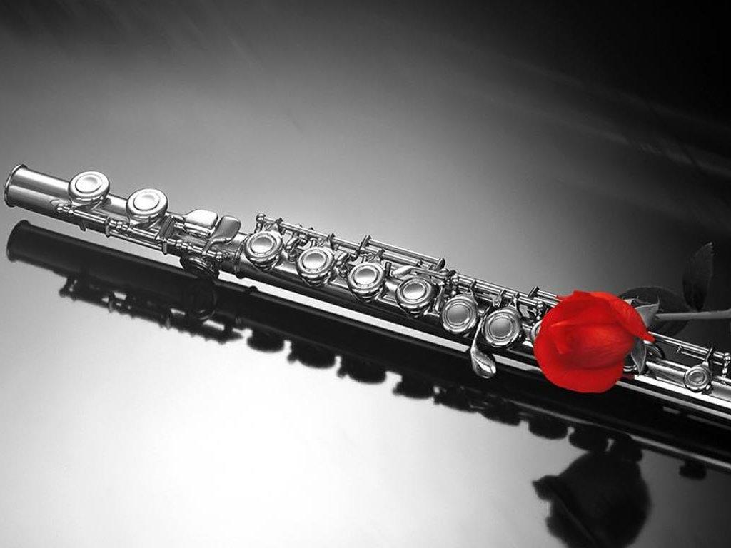Music Wallpaper: Flute