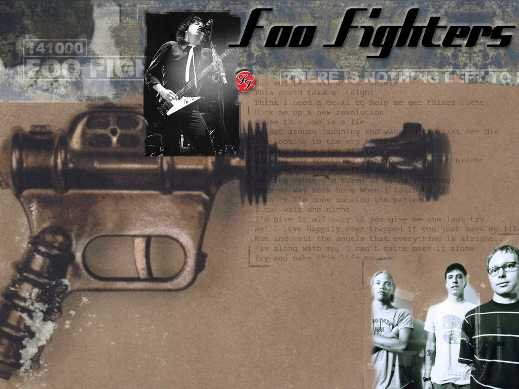 Music Wallpaper: Foo Fighters