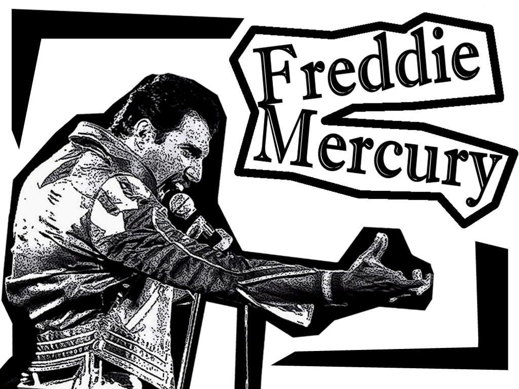 Music Wallpaper: Freddie Mercury