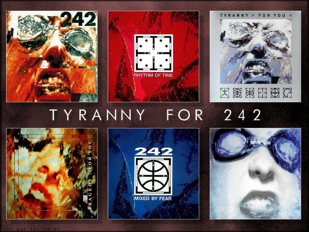 Music Wallpaper: Front 242