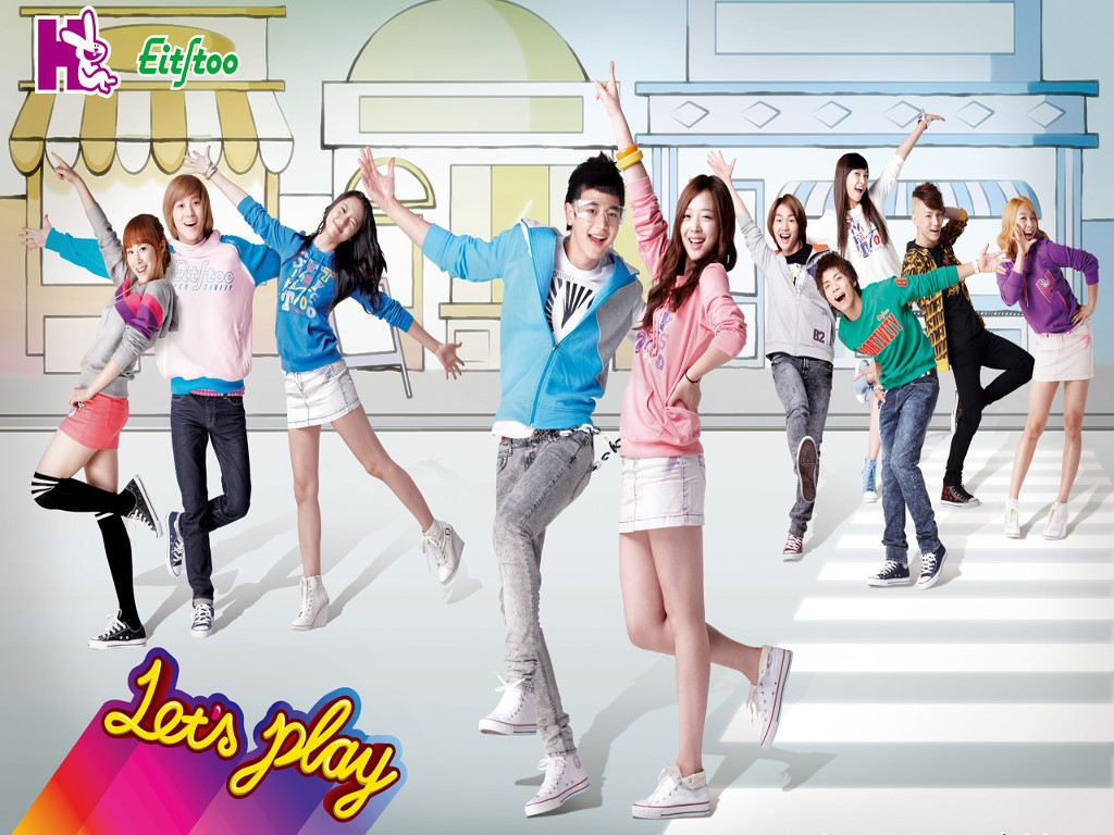 Music Wallpaper: f(x) and SHINee