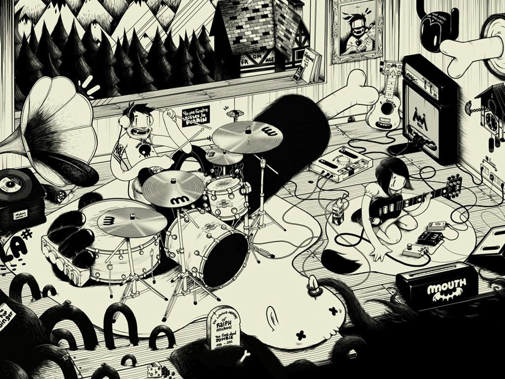 Music Wallpaper: Garage Band