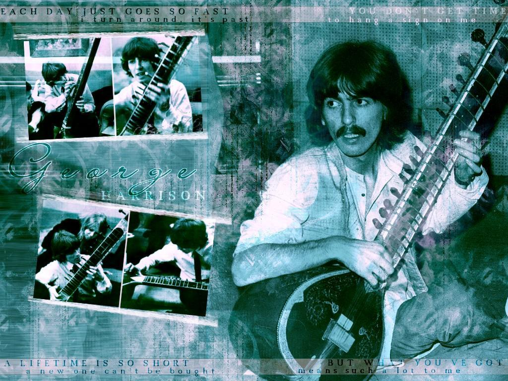 Music Wallpaper: George Harrison
