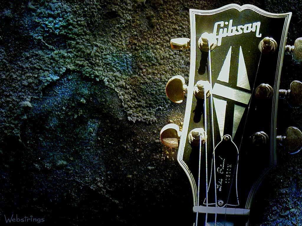 Music Wallpaper: Gibson Les Paul