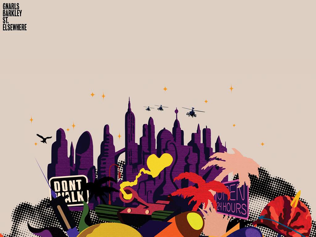 Music Wallpaper: Gnarls Barkley