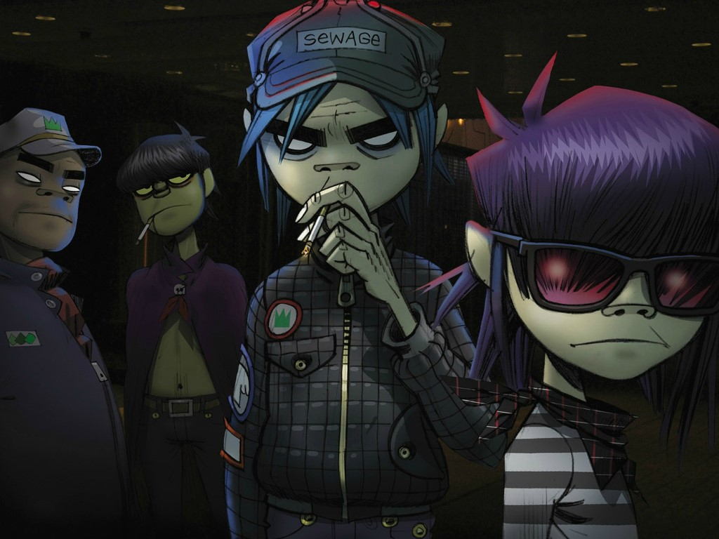Music Wallpaper: Gorillaz