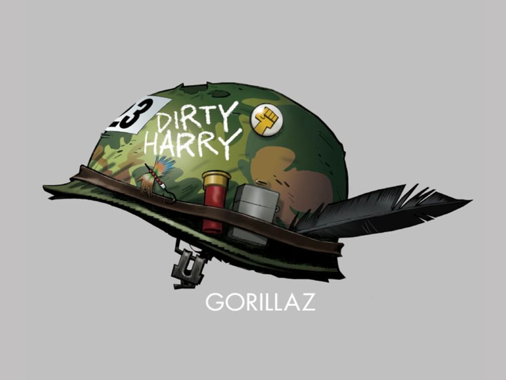 Music Wallpaper: Gorillaz - Dirty Harry