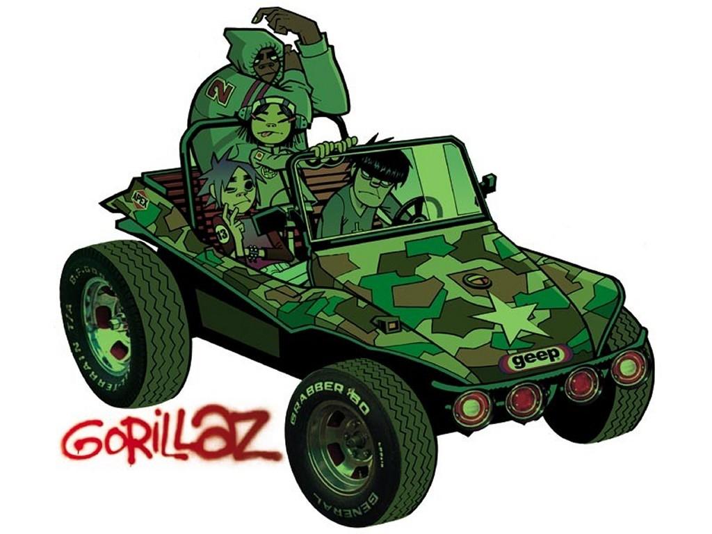 Music Wallpaper: Gorillaz