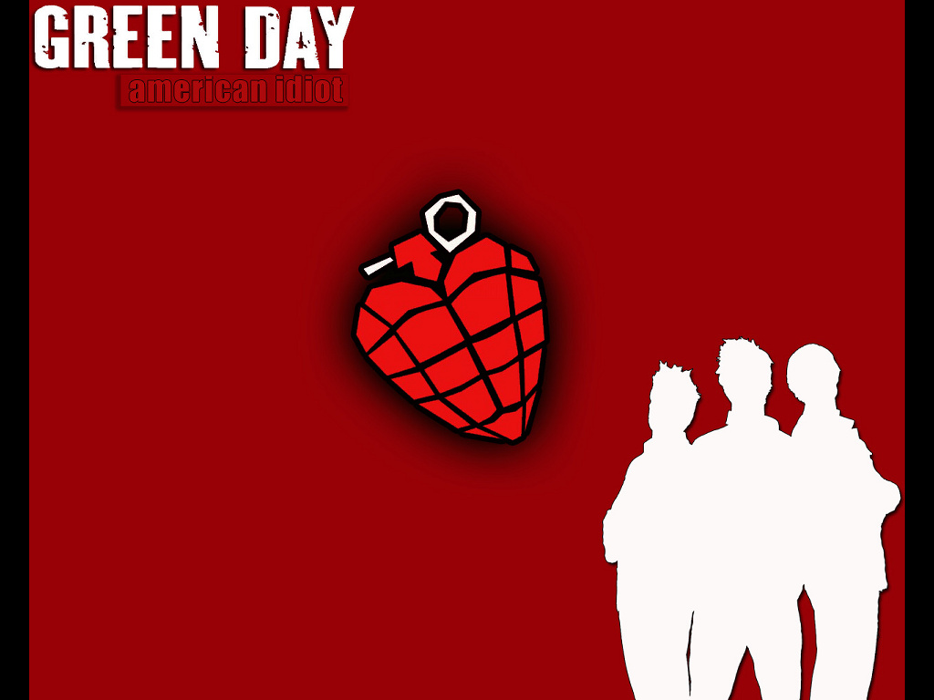 Music Wallpaper: Green Day - American Idiot
