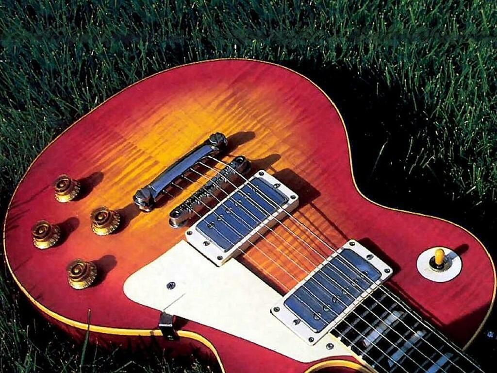 Music Wallpaper: Guitar - Les Paul