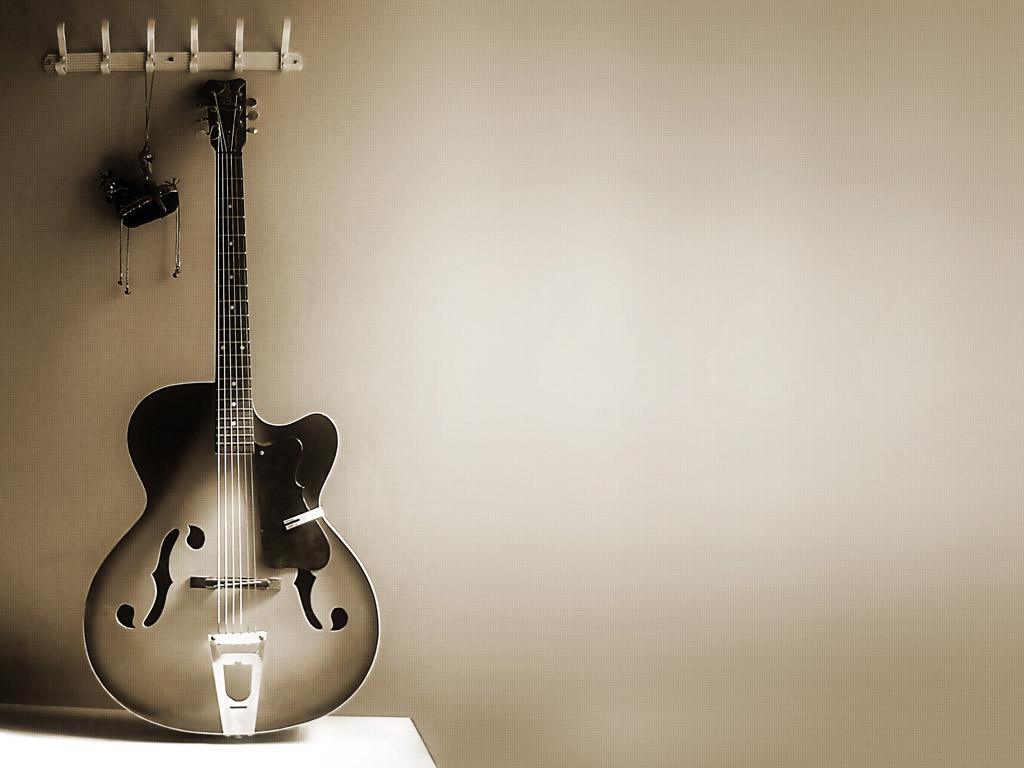 Music Wallpaper: Guitar