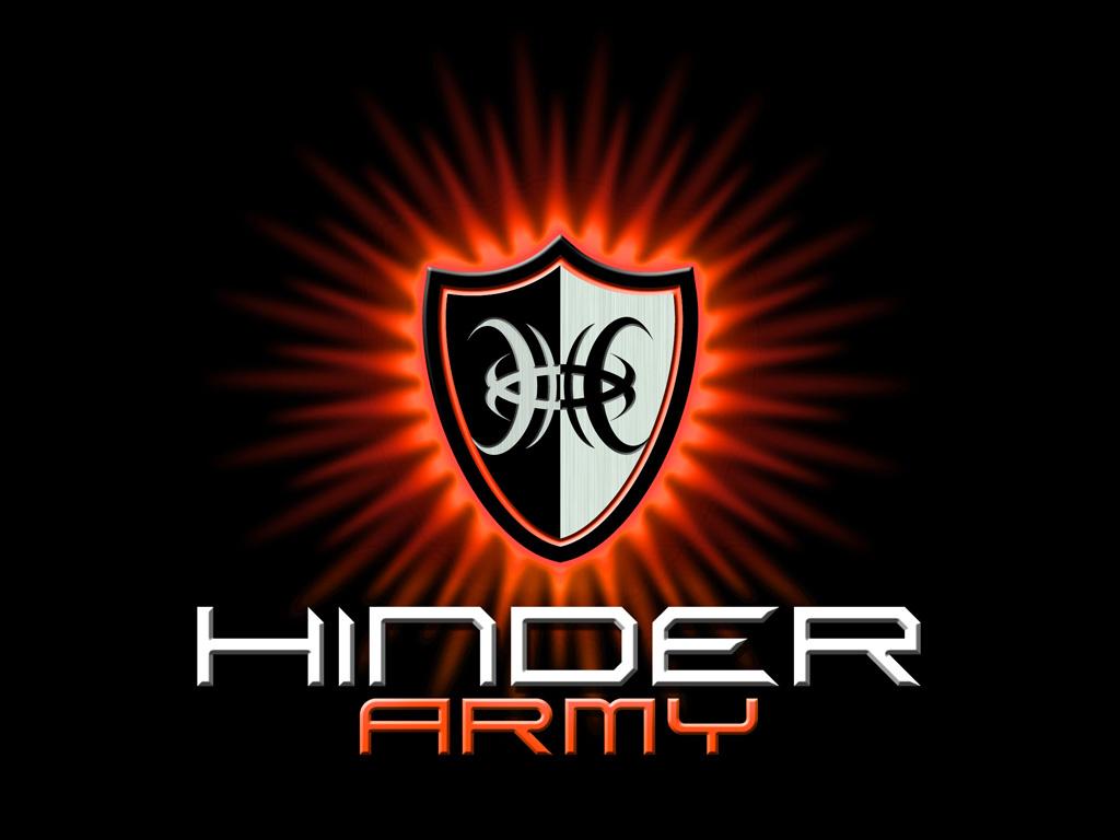 Music Wallpaper: Hinder - Army
