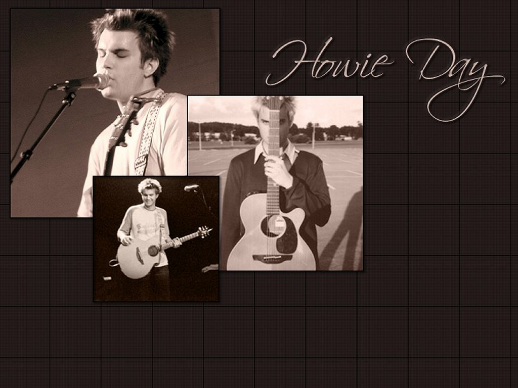 Music Wallpaper: Howie Day