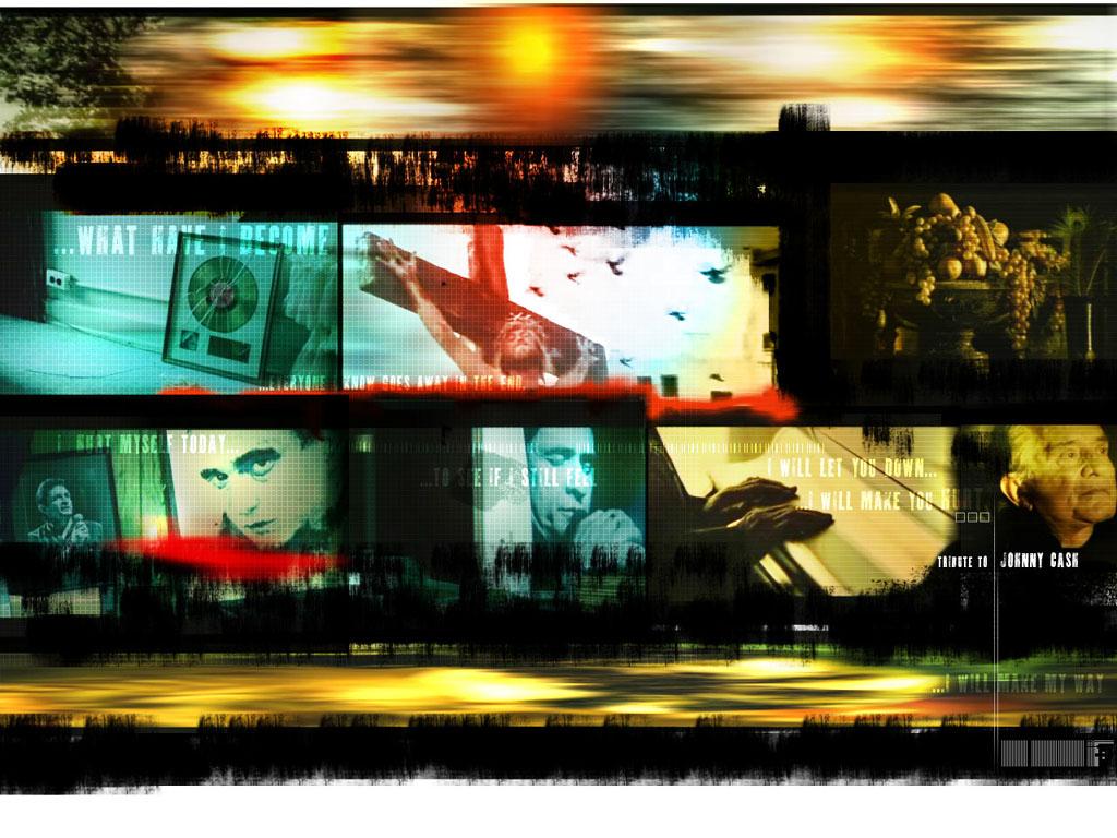Music Wallpaper: Hurt - Tribute to Johnny Cash
